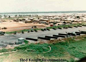 Red Knight Revetments - Vinh Long Airfield